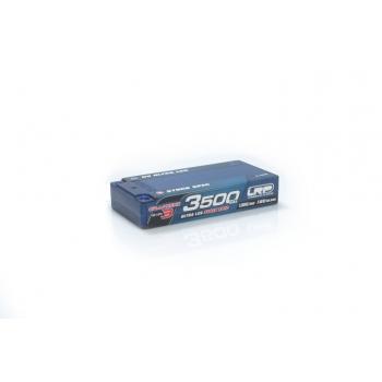 HV Ultra LCG Stock Spec Shorty GRAPHENE-3 3500mAh Hardcase battery - 7.6V LiPo - 130C/65C