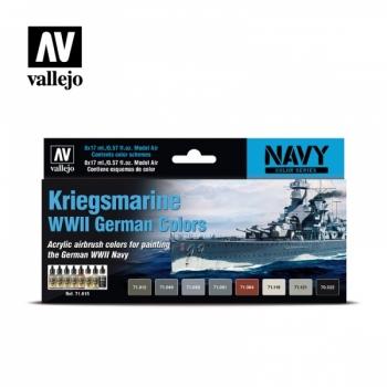 Vallejo värvikomplekt WWII Kriegsmarine