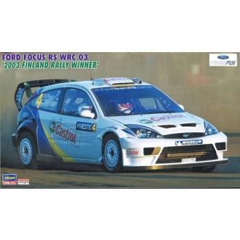 1/24 HASEGAWA Ford Focus RS WRC 2003, Markko Märtin