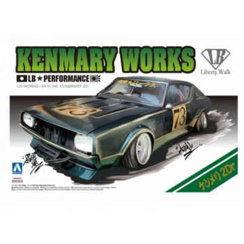 1/24 AOSHIMA LB Works Ken Mary 2Dr