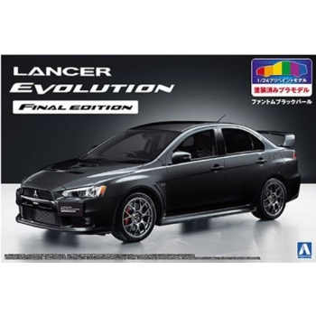 1/24 AOSHIMA Lancer Evo X Final Edi. Black