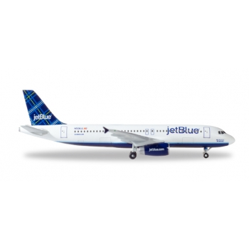 "1/500 JetBlue Airways Airbus A320 - ""Tartan"" tail design - N508JL ""May the Force be with Blue"""