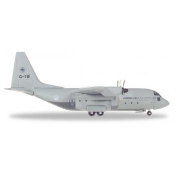 1/500 Royal Netherlands Air Force Lockheed C-130H Hercules - 336 Squadron - G-781