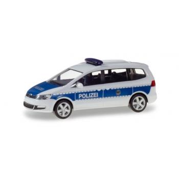 """1/87 Herpa  VW Sharan """"Bundespolizei"""""""