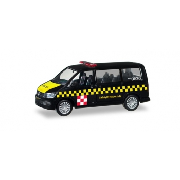 "1/87 Herpa VW T6 Multivan ""Fraport Safetycar"""