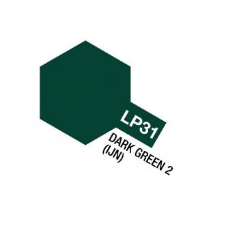 Tamiya värv LP-31 Tume roheline 2 (IJN)