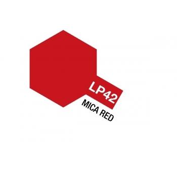Tamiya värv LP-42 Mica punane