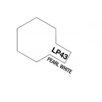 Tamiya värv LP-43 Pärlmutter valge