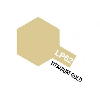 Tamiya värv LP-62 Titaan kuld