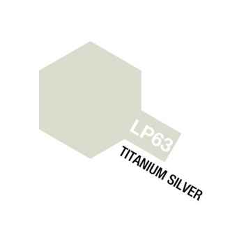 Tamiya värv LP-63 Titaan hõbe