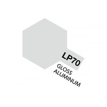 Tamiya värv LP-70 Läikiv alumiinium