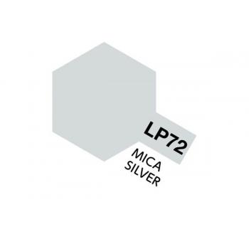 Tamiya värv LP-72 Mica hõbe