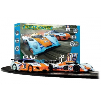 Scalextric GULF RACING (GT vs LMP)