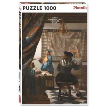 PUSLE Vermeer,The art of painting PIATNIK 1000TK
