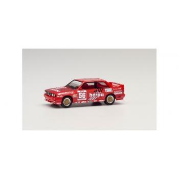 """1/87 Herpa BMW M3 Motor racing """"Herpa Motorsport, Gerhard Müller 1989"""""""