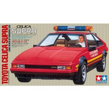 1/24  Tamiya TOYOTA CELICA SUPRA LONG BEACH GP MARSHAL CAR