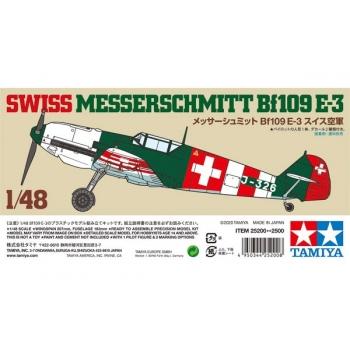 1/48 Tamiya SWISS MESSERSCHMITT BF109 E-3