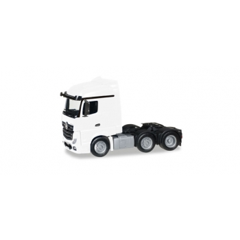 1/87 Mercedes-Benz Actros Streamspace 6x2 rigid tractor, white HERPA