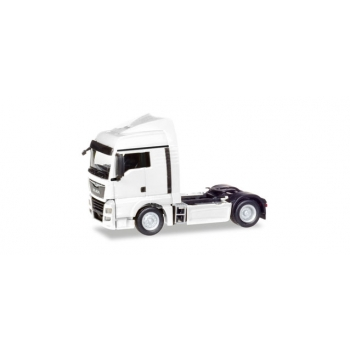 1/87 MAN TGX XLX Euro 6c rigid tractor, white HERPA