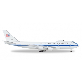 """1/500 U.S. Air Force Boeing E-4B """"Nightwatch"""" Advanced Airborne Command Post - 55th wing, 1st ACCs − 74-0787"""