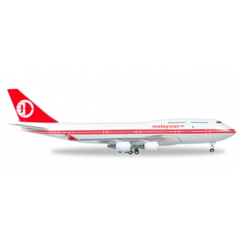 1/500 Malaysia Airlines Boeing 747-400 - Retro colors