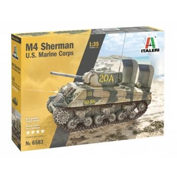 1/35 ITALERI M4 SHERMAN U.S. MARINE CORPS