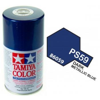 Tamiya PS-59 TUME METALLIKSININE lexan spray