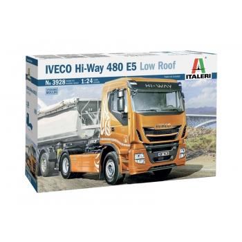 1/24 ITALERI IVECO HI-WAY 480 E5 (LOW ROOF)