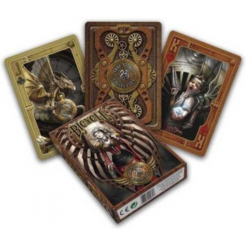 Pokercards Anne Stokes Steampunk Bicycle