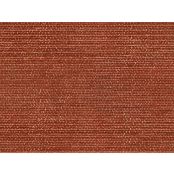 Noch kartongist tekstuurplaat Punane klinker 25 x 12.5cm