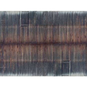 Noch kartongist tekstuurplaat Vana palksein 25 x 12.5cm