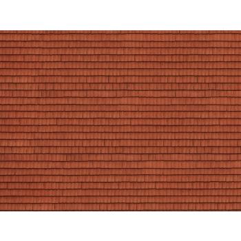 Noch kartongist tekstuurplaat Punane katusekivi 25 x 12.5cm