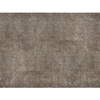 Noch kartongist tekstuurplaat Hall katusekivi 25 x 12.5cm