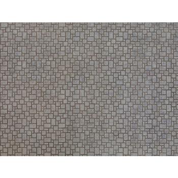 Noch kartongist tekstuurplaat Moderne kivisillutis 25 x 12.5cm