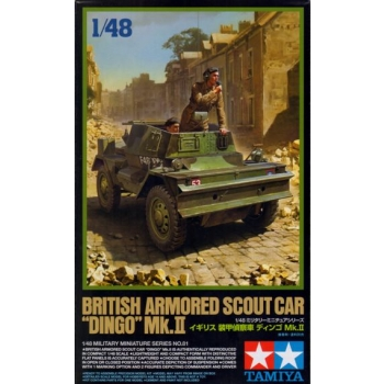 "1/48 TAMIYA British Armored Scout Car ""Dingo"" Mk.II"