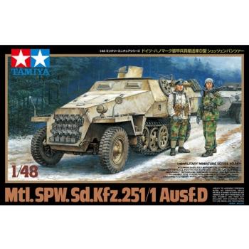 1/48 TAMIYA Mtl.SPW.Sd.kfz 251/1 Ausf.D