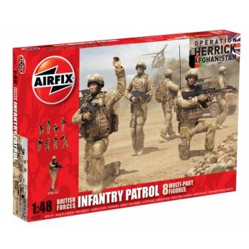 1/48 AIRFIX British Army Troops (Afghanistan)