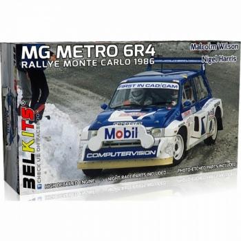 1/24 Belkits MG Metro 6R4 1986 M.Wilson Monte Carlo