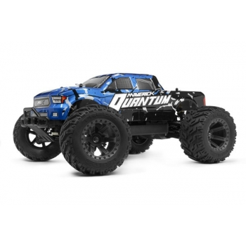 1/10 MAVERICK QUANTUM MT 4WD MONSTER TRUCK - Sinine