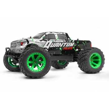 1/10 MAVERICK QUANTUM MT FLUX 4WD MONSTER TRUCK - Hõbedane