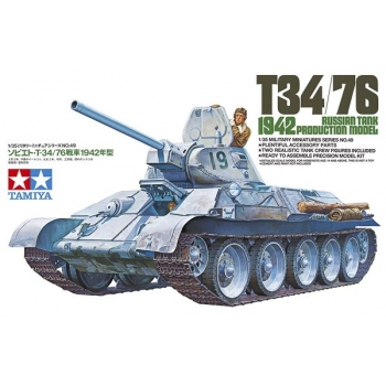1/35 Tamiya T34/76 1942 PRODUCTION MODEL