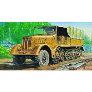 1/72 TRUMPETER Famo Sd.Kfz. 9/18 Ton Halftrack