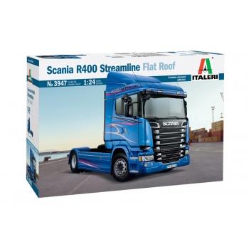 1/24 ITALERI Scania R400 Streamline (Flat Roof)