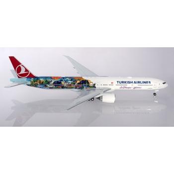 "1/200 Turkish Airlines Boeing 777-300ER ""Istanbul-San Francisco"""