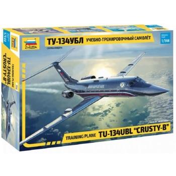 "1/144 ZVEZDA Tupolev Tu-134Ubl ""Crusty-B"""
