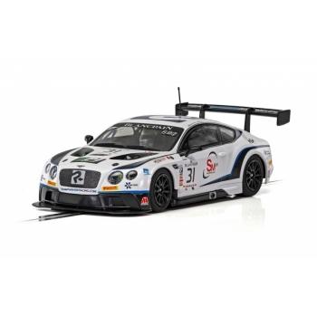 Scalextric Bentley Continental GT3 Team Parker Racing Brands Hatch 2018