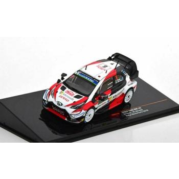 1/43 IXO Toyota Yaris WRC, No.8, Microsoft, Rallye WM, Rallye Monte Carlo 2019a, O.Tänak/M.Järveoja