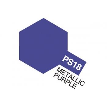 Tamiya PS-18 Metallik lilla lexan spray