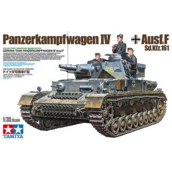 1/35 TAMIYA GERMAN TANK PANZERKAMPFWAGEN IV AUSF.F