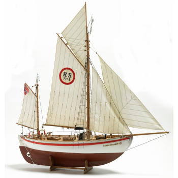 1/15 COLIN ARCHER RC WOODEN HULL